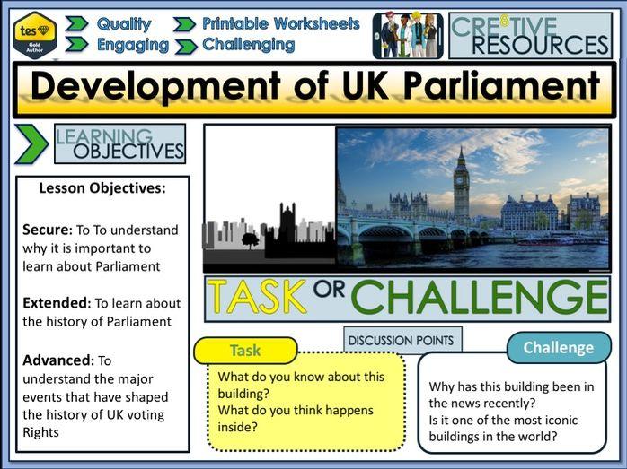 Development Of  UK Parliament