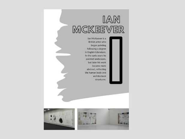 Artist A to Z | I | Ian McKeever| Mark Making | Abstract Landscapes