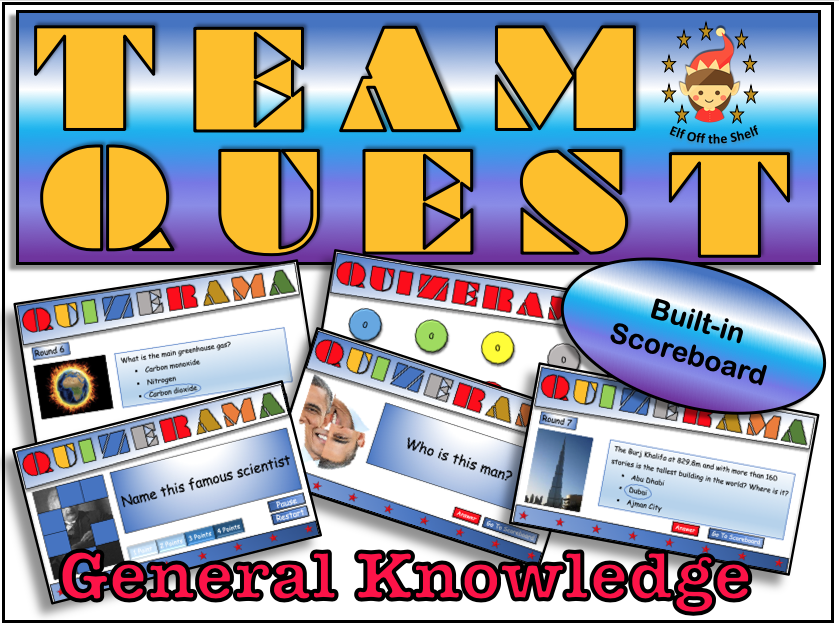 Back to School Team Quest -Team Building Activity KS3