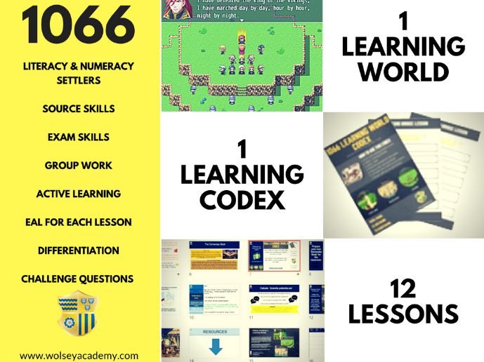 1066 4. Battle of Hastings Descriptive Writing Skills - Learning World Enabled - Wolsey Academy