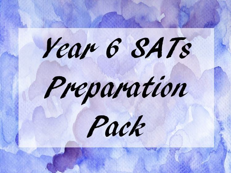 Year 6 SATs Preparation Pack (reading comprehensions, spelling, grammar)