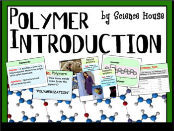 Polymers Introduction Lesson