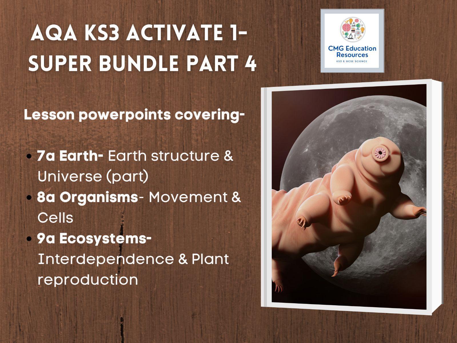 KS3 AQA Activate 1- Super bundle part 4