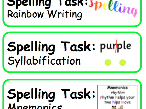 Literacy and English - Task Board Items (NLC)