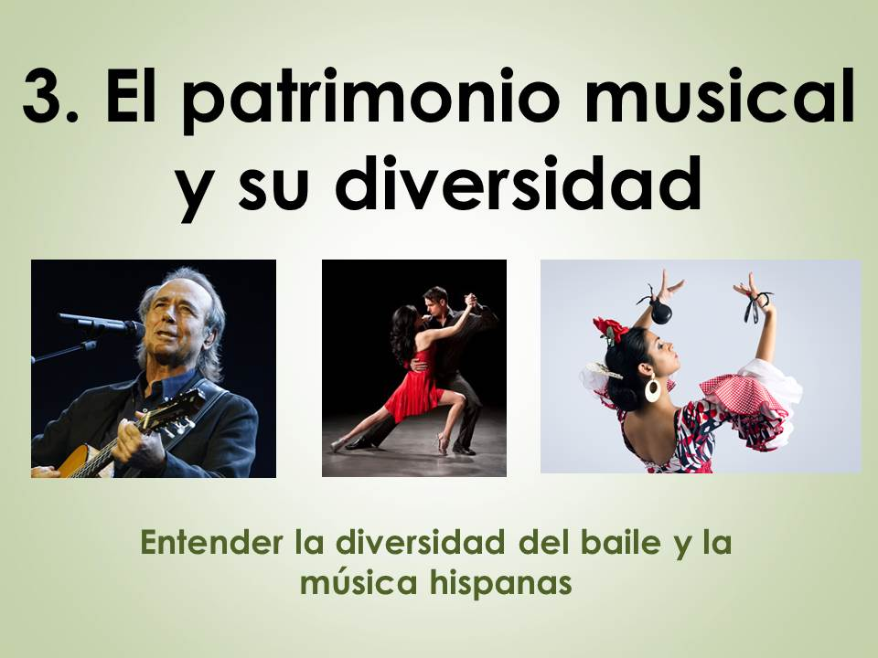 AQA New AS/A Level Spanish El patrimonio cultural: El patrimonio musical y su diversidad