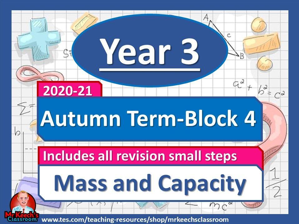 Year 3 - Mass and Capacity - Summer Block 4 - White Rose Maths