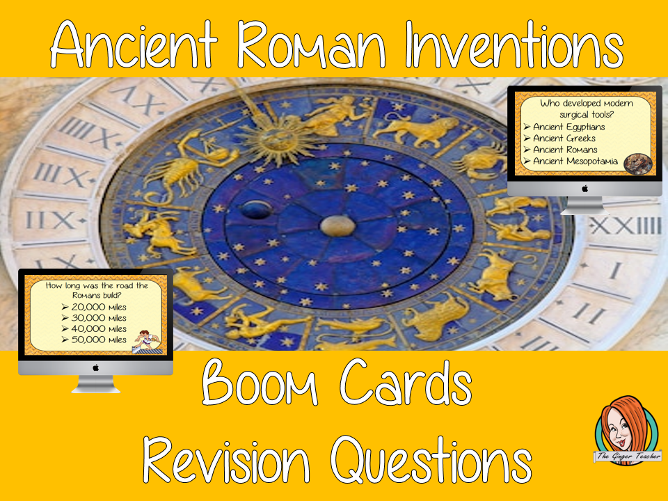 Ancient Roman Inventions Revision Questions