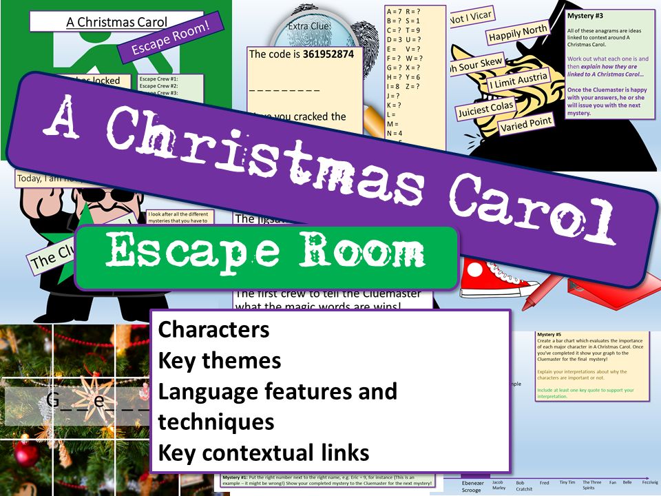 A Christmas Carol Escape Room