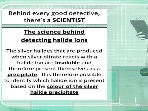 Detecting anions