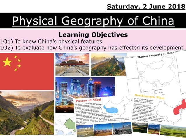 Physical Geography of China