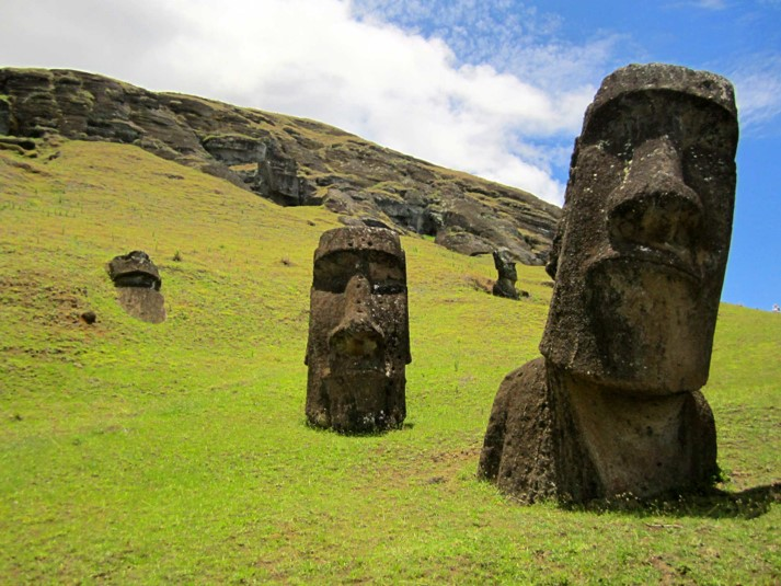Easter Island (How did a civilization collapse?)