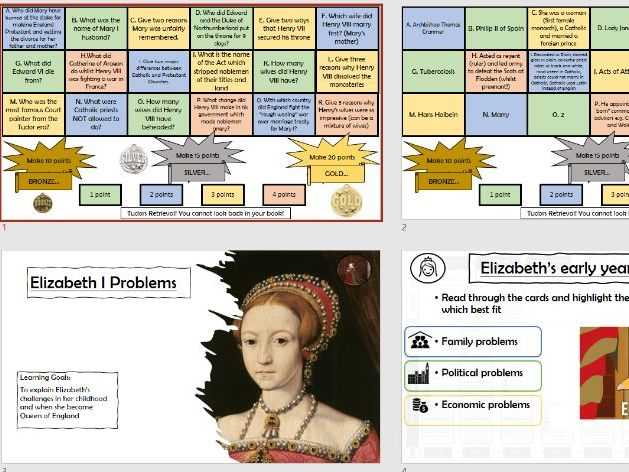 The Tudors Scheme of Work