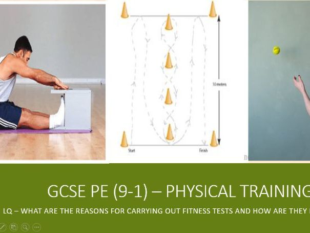 AQA GCSE PE (9-1) Physical Training - Fitness Tests, Reasons for and limitations