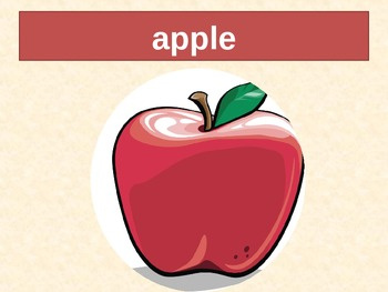 Fruits and Vegetables in English power point
