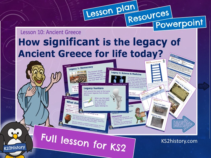 Ancient Greek Legacy (Lesson for KS2)