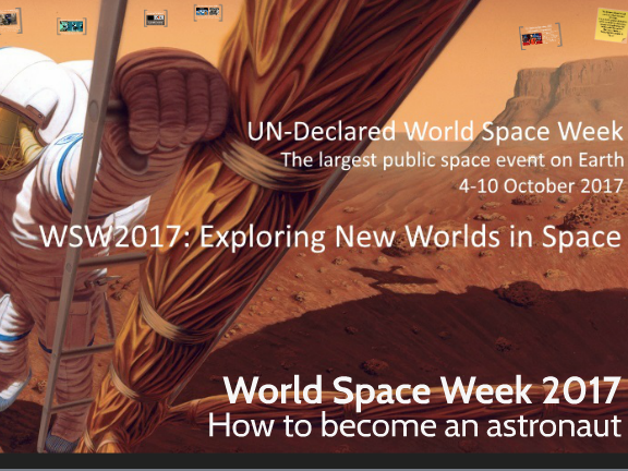 World Space Week 2017: How to become an astronaut