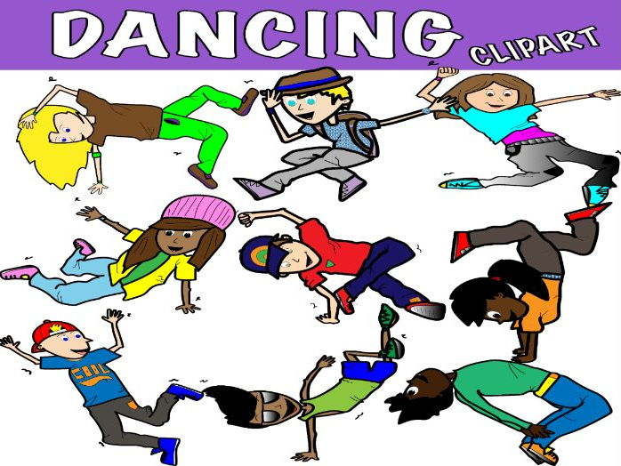 DANCE CLIPART - STREET DANCE