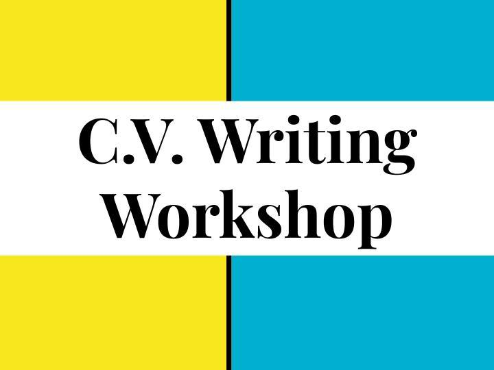 C.V Writing Workshop