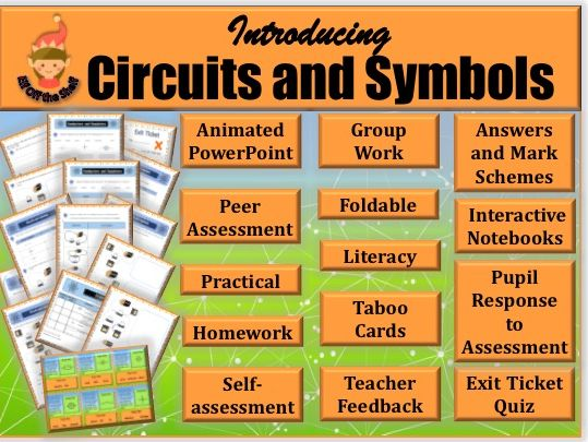 Electricity-Circuits and Symbols KS3