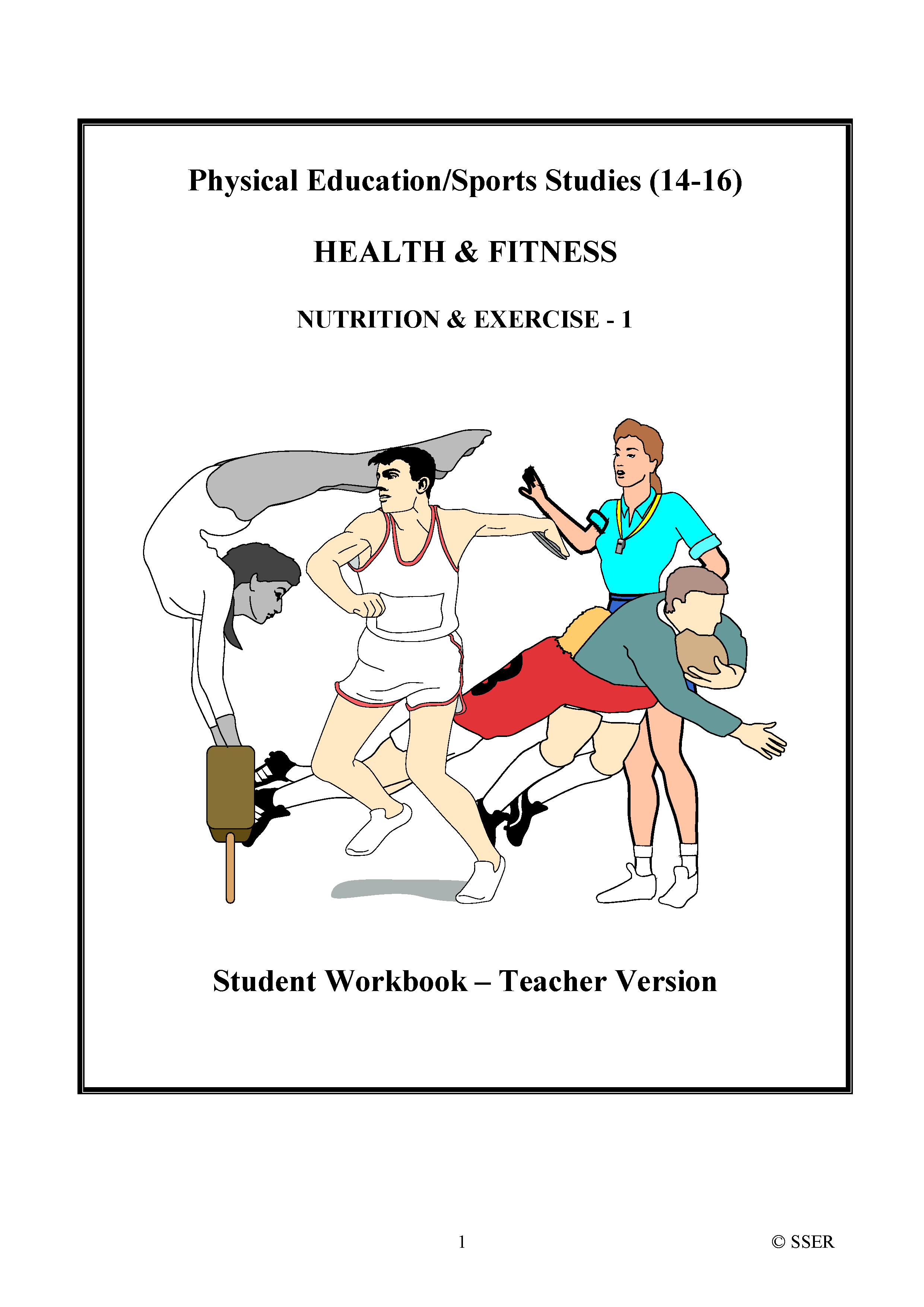 PE702ST - Nutrition & Exercise - 1 (Balanced Diet & Energy Needs) WS