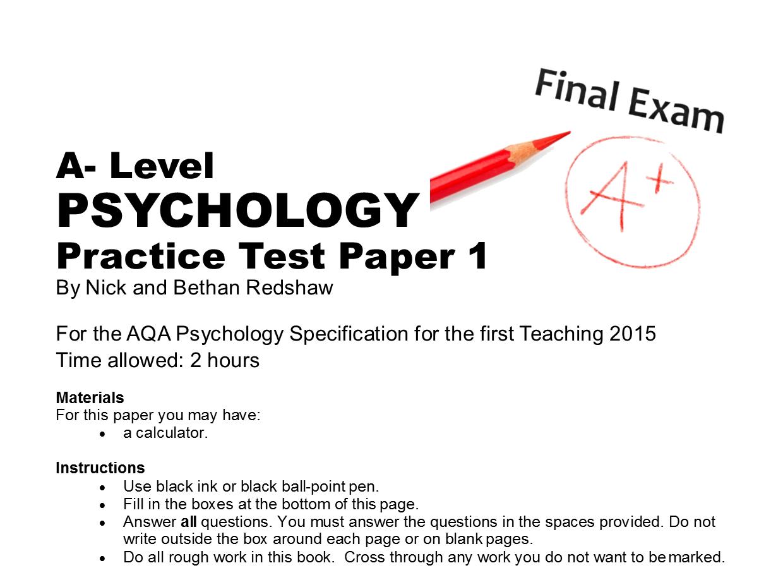 black psychology essay