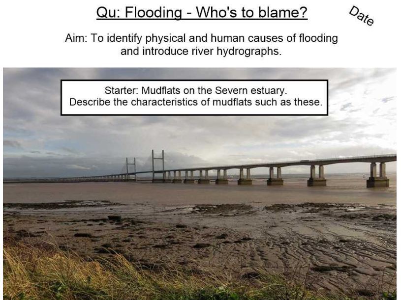 Human and Physical Causes of Flooding