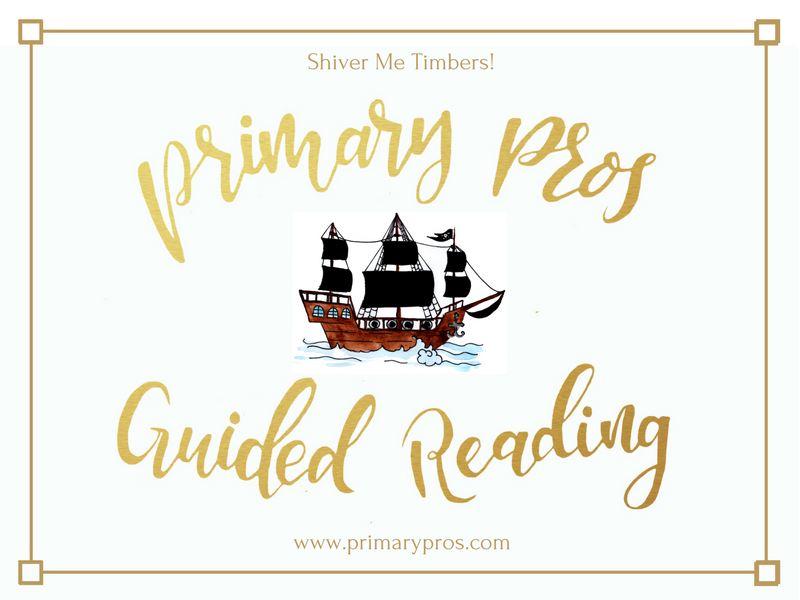 Year 3 & 4 Guided Reading Text - Shiver Me Timbers!