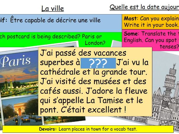 1-2. Ma Ville - Paris