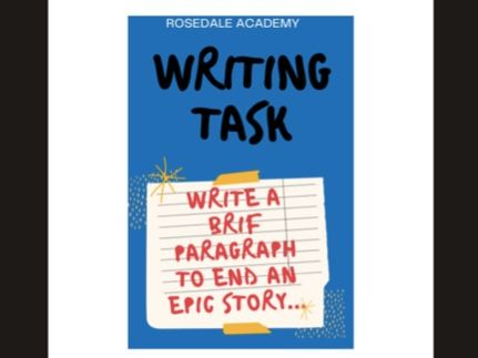 Write a Brief Paragraph to End an Epic Story   English Creative Writing Task   Model Answer - GCSE