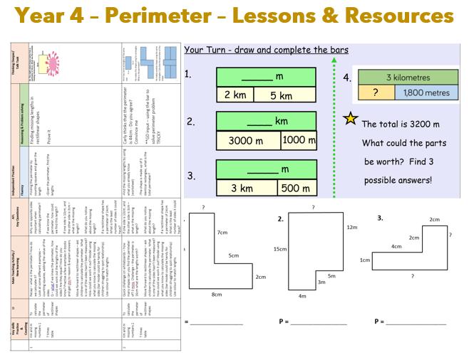 Y4 WR Measurement / Perimeter Resources - Maths
