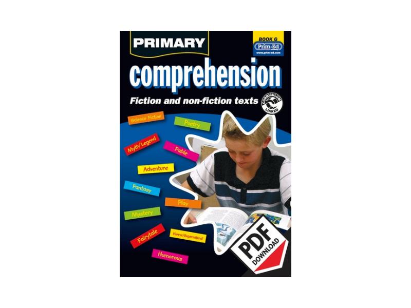 Primary Comprehension: Book G - KS2 YR6/P7Ext (Age11-12)