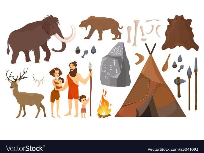 Stone Age Boy Expanding Nouns and Verbs