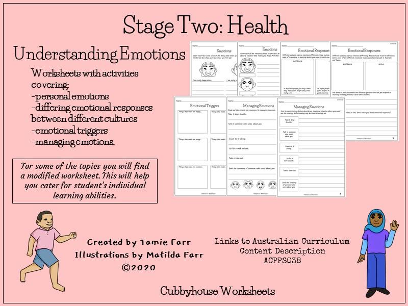 Stage 2 Health Understanding Emotions