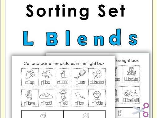 L Blends Sorting Set