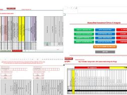 OCR Sports Science Grading Trackers