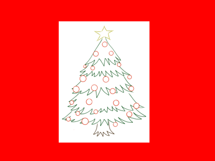 Christmas Tree Art Activity