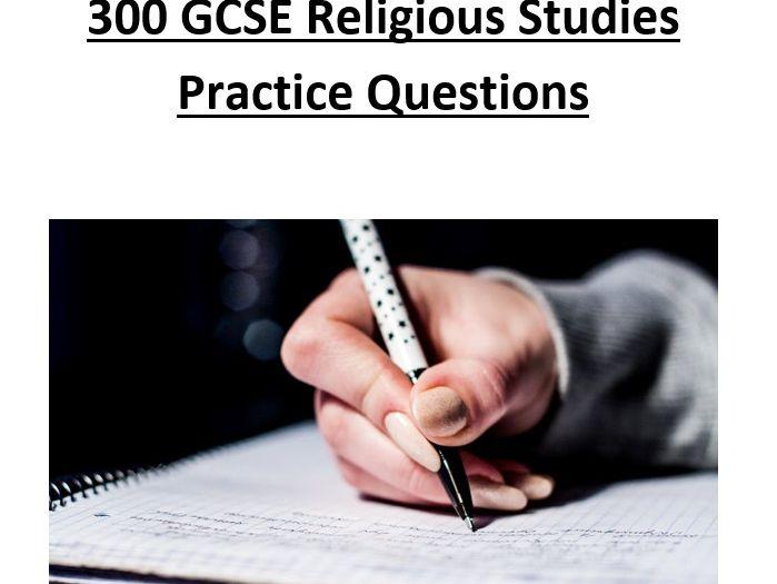 300 GCSE Religious Studies Practice Questions (Eduqas Short Course)
