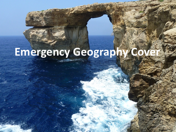 Emergency Geography Cover