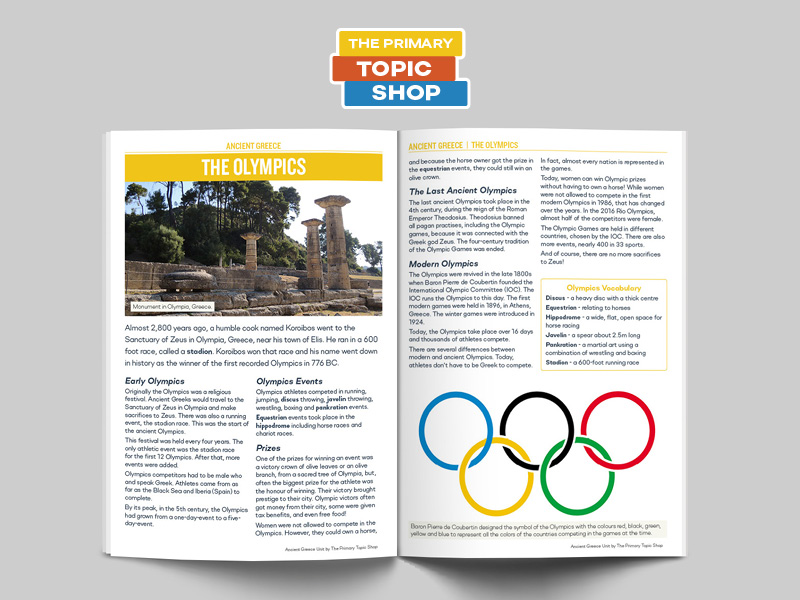 Ancient Greece - Ancient Olympics