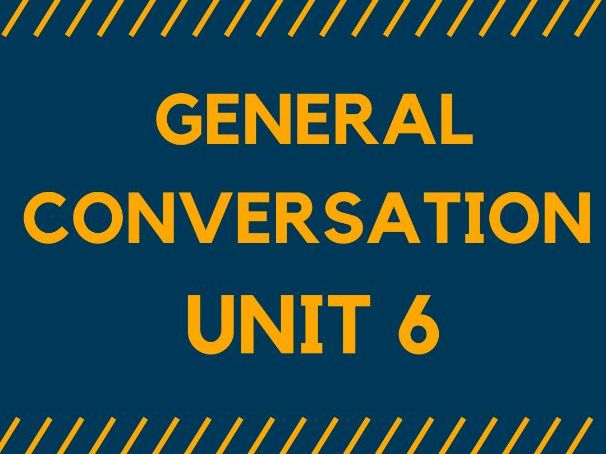 MODEL ANSWERS - GENERAL CONVERSATION. Unit 6 for GCSE SPANISH 1-9