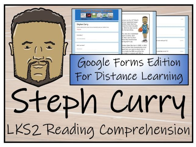 LKS2 Stephen Curry Reading Comprehension & Distance Learning Activity