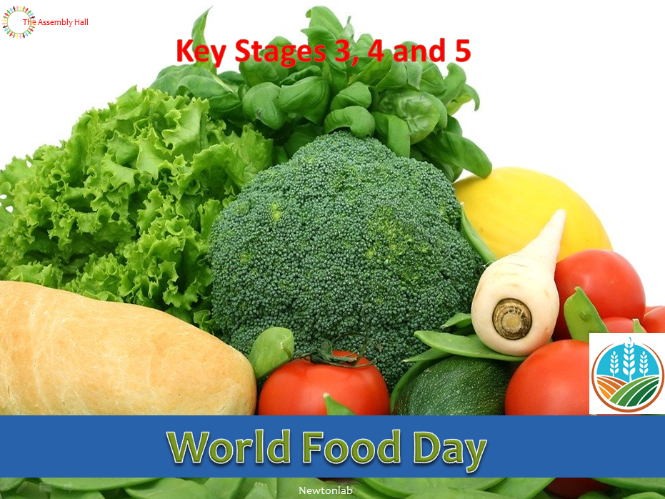 World Food Day Assembly-16th October 2020 - Key Stages 3, 4 and 5
