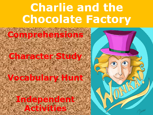 Charlie and the Chocolate Factory- Guided Reading.
