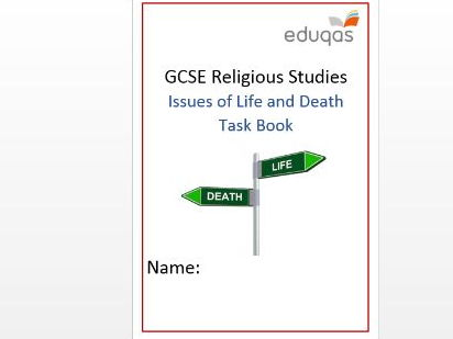 WJEC Eduqas Life and Death Task Book - Activity Book
