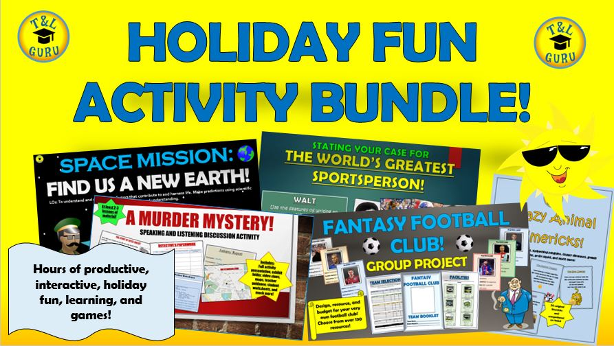 Holiday Fun Activities Bundle!