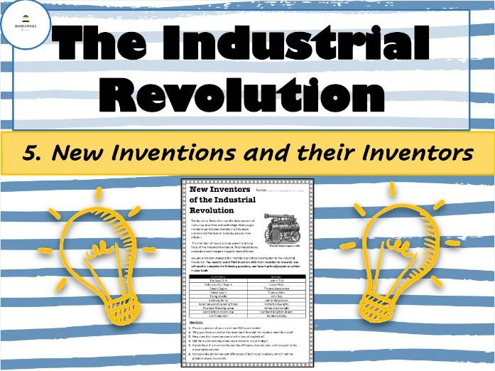 Industrial Revolution - 5. New Inventions