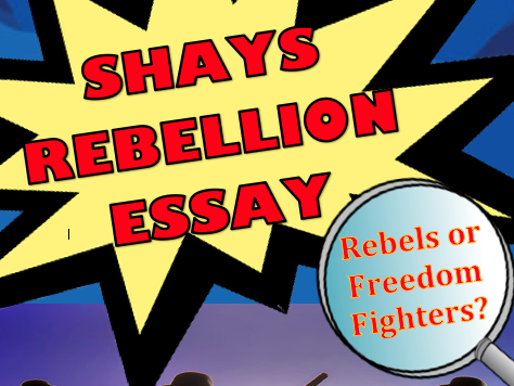 Shays Rebellion Essay with Primary Sources
