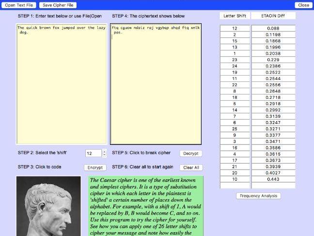 Caesar Cipher Python Program (KS3 resource)