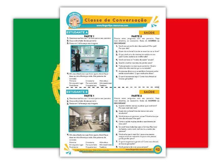 Saúde - Portuguese Speaking Activity
