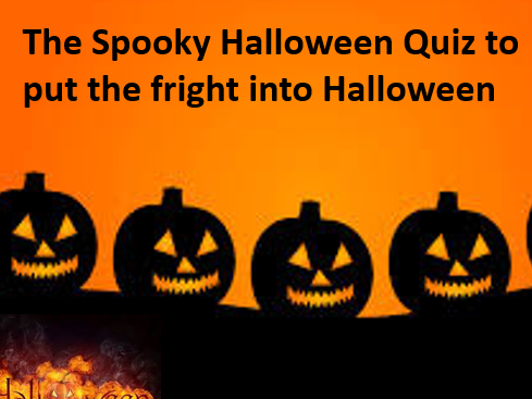 Halloween Quiz and Answer sheet - Buy now for a spooky deal